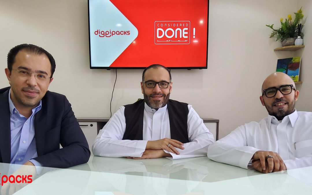 DIGGIPACKS raises six figures in their Pre-SEED funding round for further expansion in Saudi Arabia
