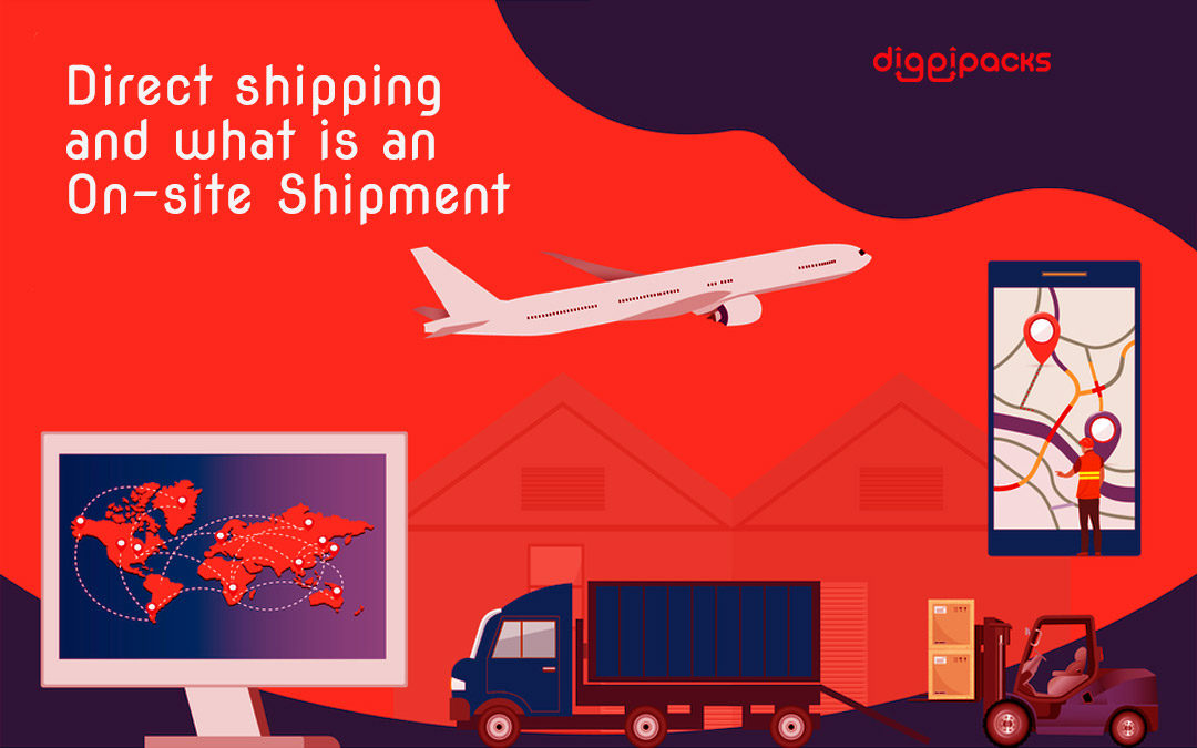 Direct Shipping and what is an On-site Shipment?