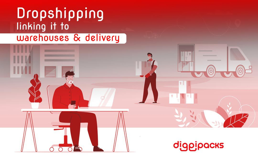 Dropshipping and link it to warehouses and shipping