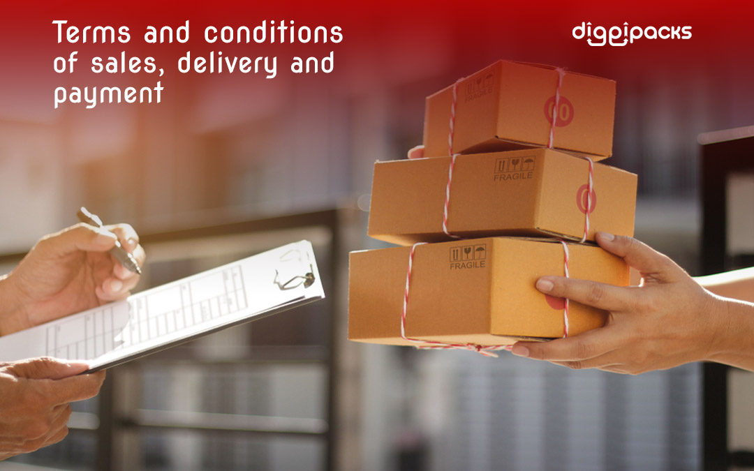 Terms and conditions of sales, delivery, and payment